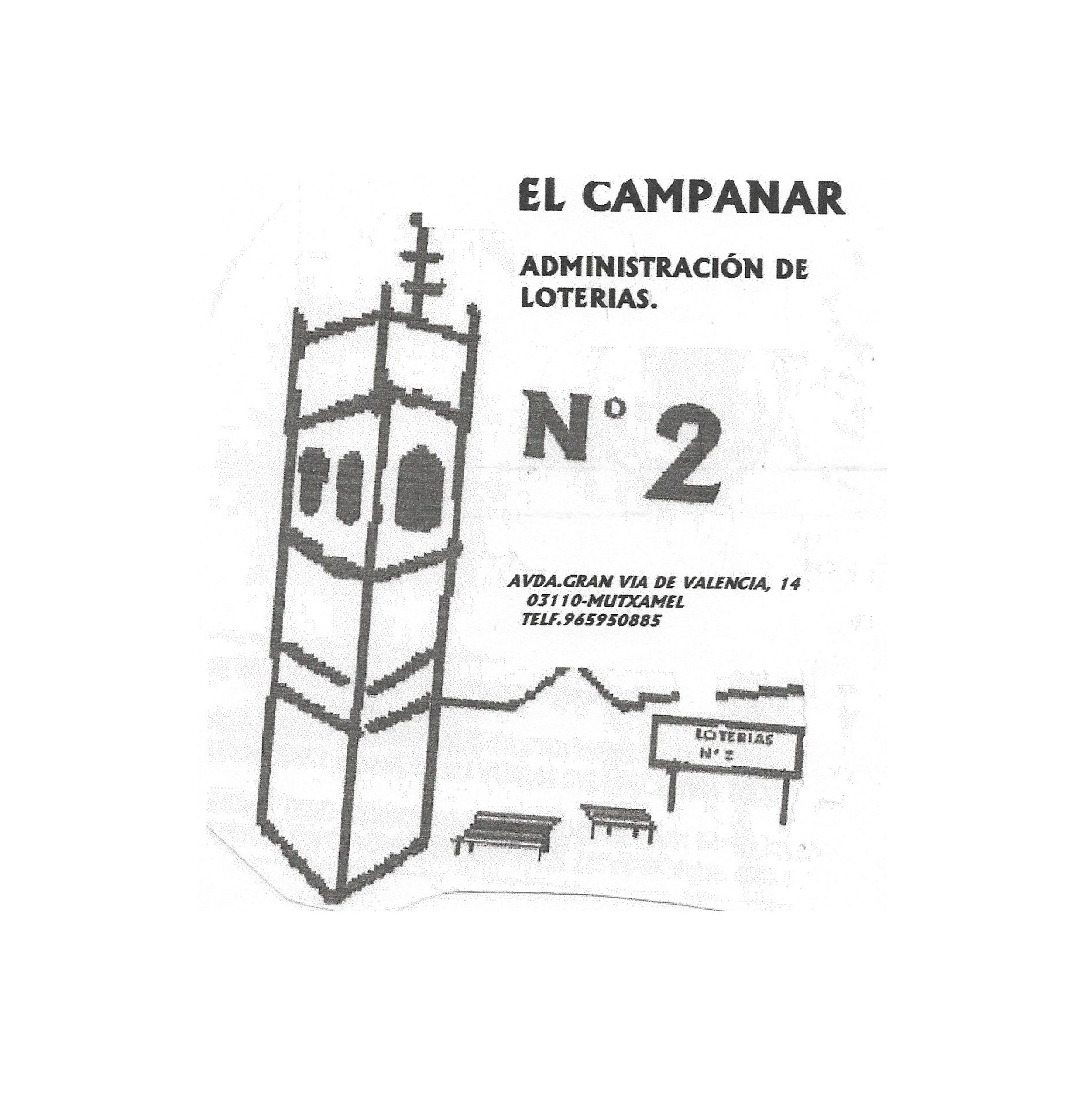 ADMON. DE LOTERIAS Nº2 EL CAMPANAR